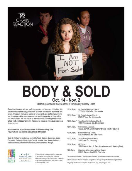 """Body & Sold"""